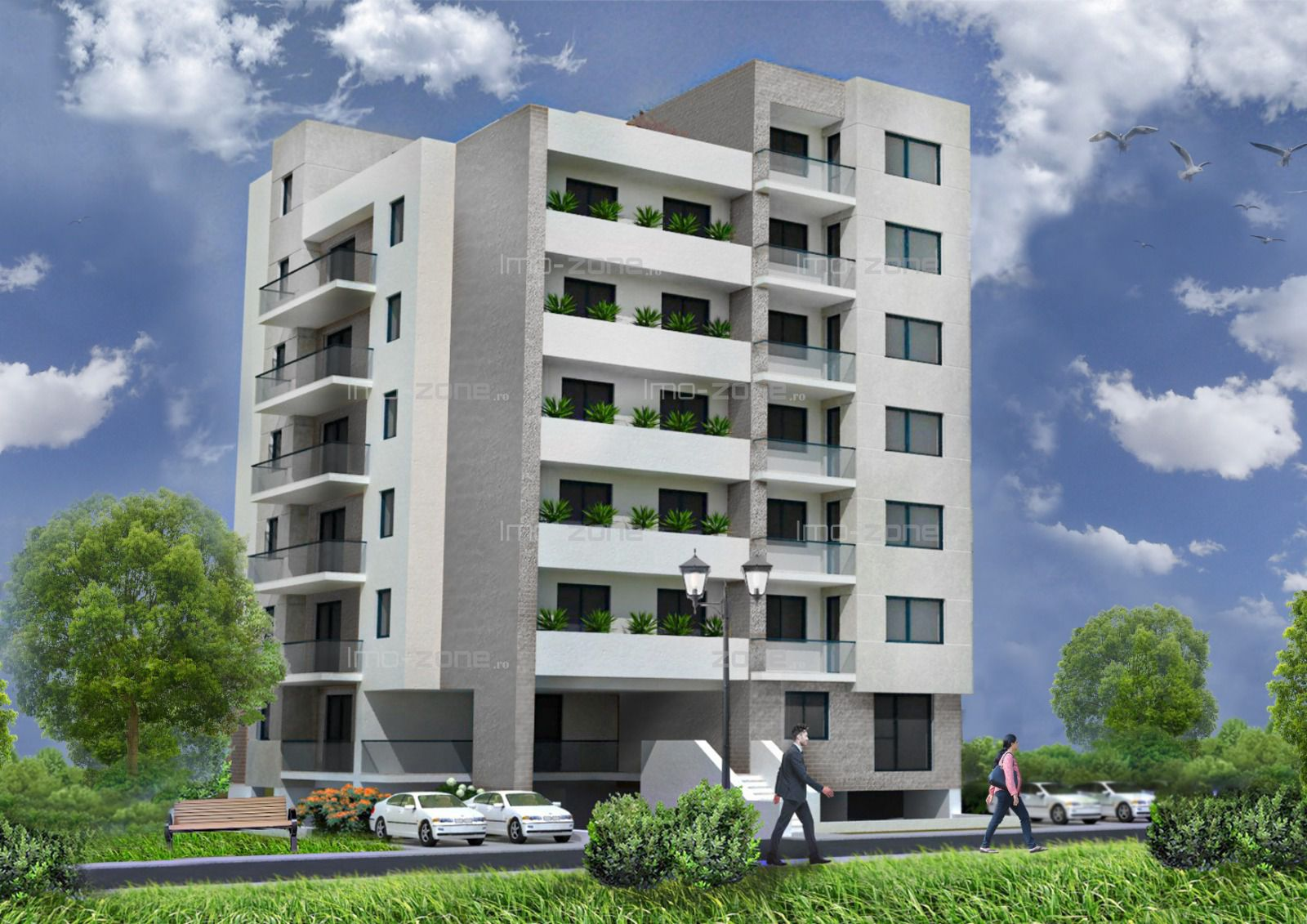 Apartament cu 2 camere, spatios, 55 mp, BLOC NOU, FINISAT MODERN, COMISION 0%