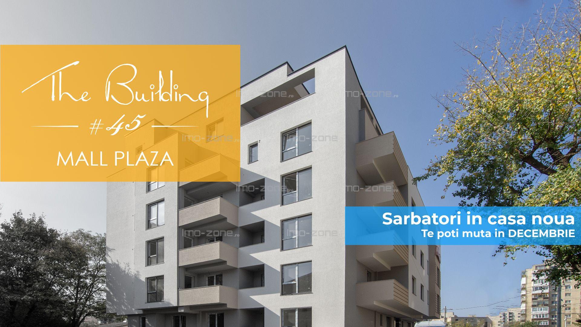 Apartament de 3 camere cu terasa, 2 bai, bucatarie inchisa, PLAZA MALL