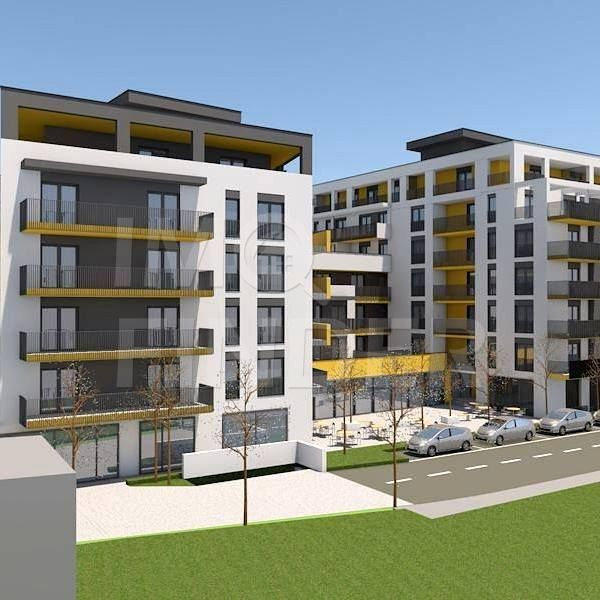 Apartament cu 2 camere de vanzare  zona Central, 60 mp +  terasa