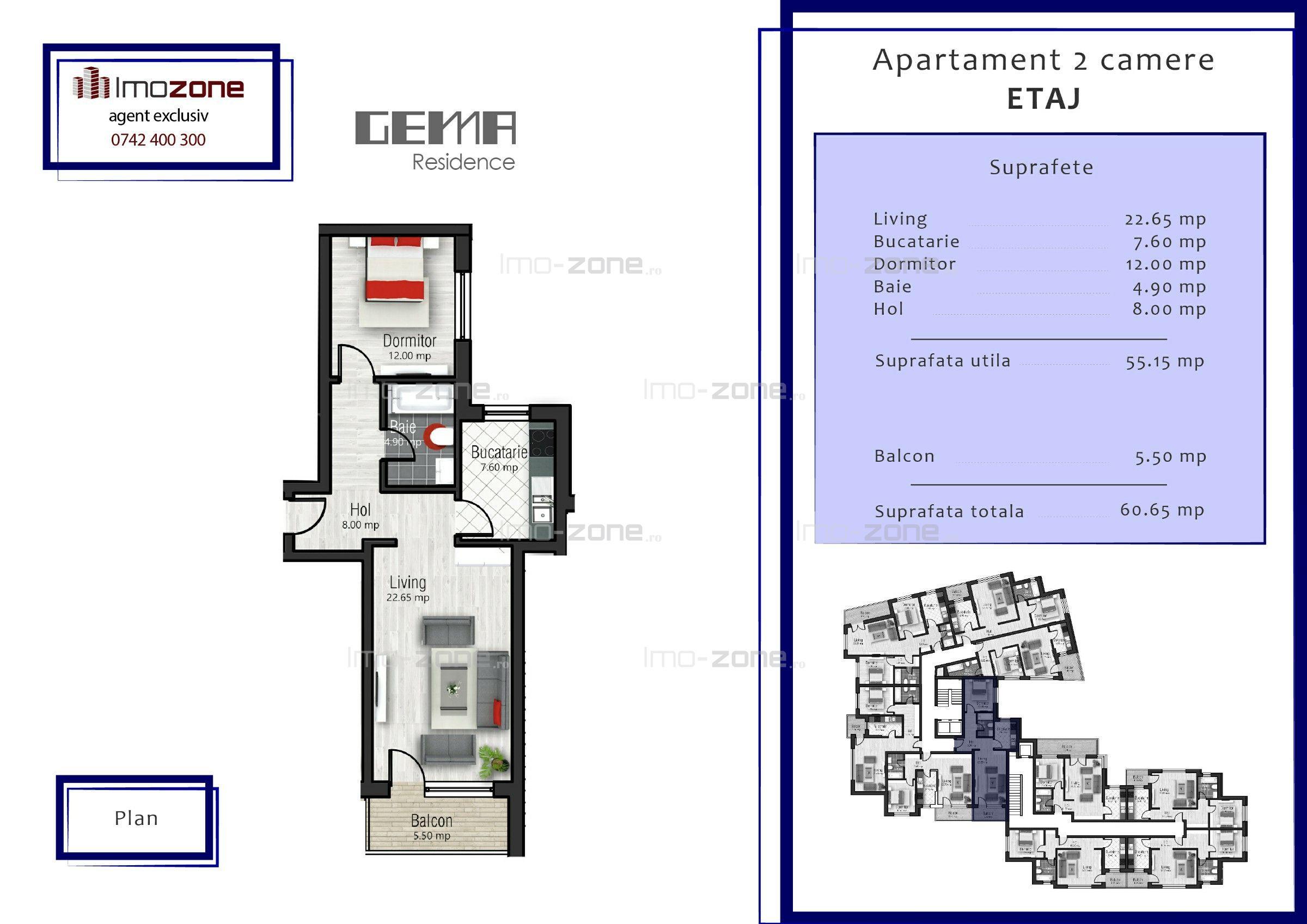 61 mp, 2 camere, localizat langa metrou, MILITARI - PACII, etajul 5.