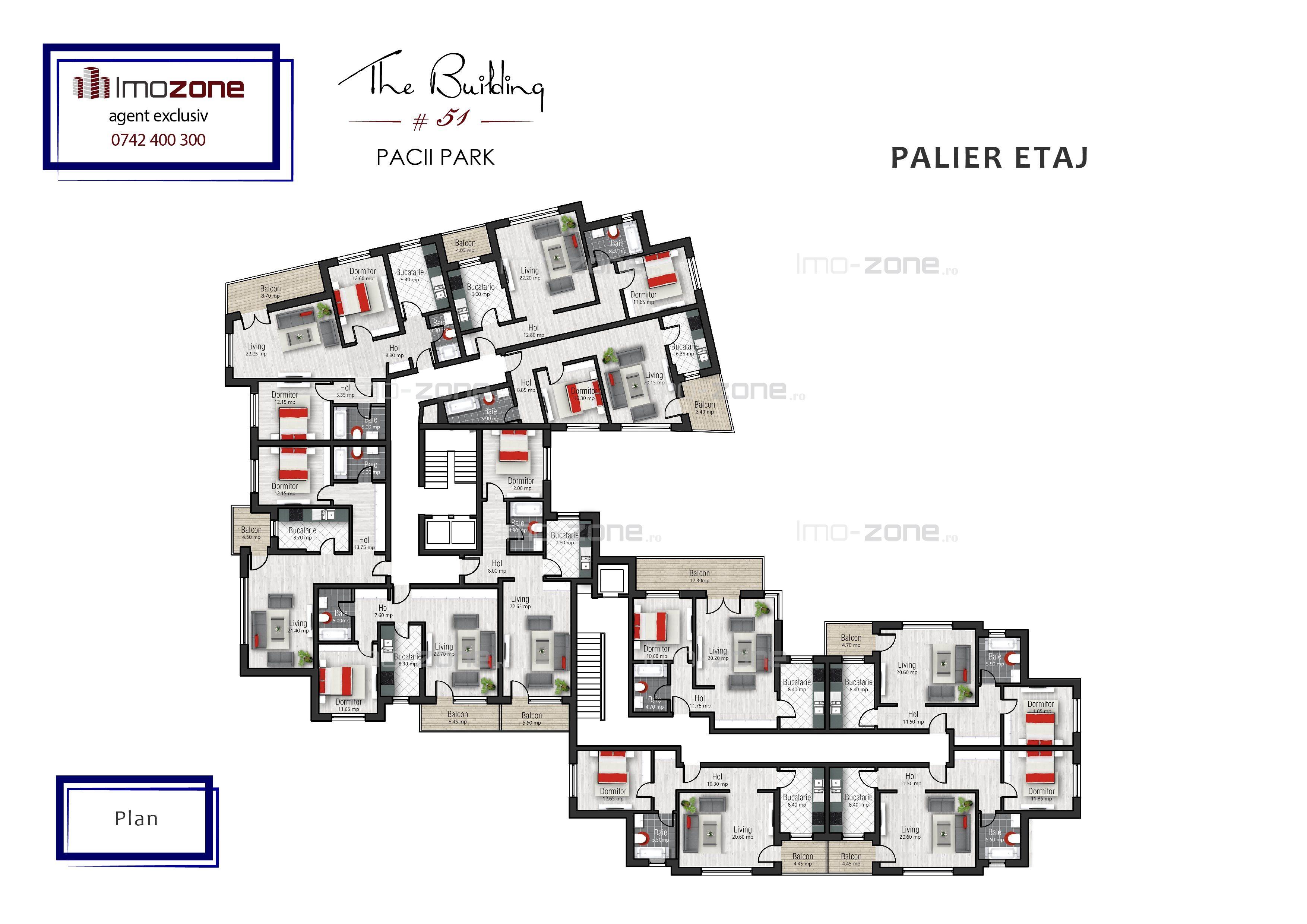 COMISION 0%, 2 camere, langa metrou, MILITARI - PACII, etajul 8, 68 mp