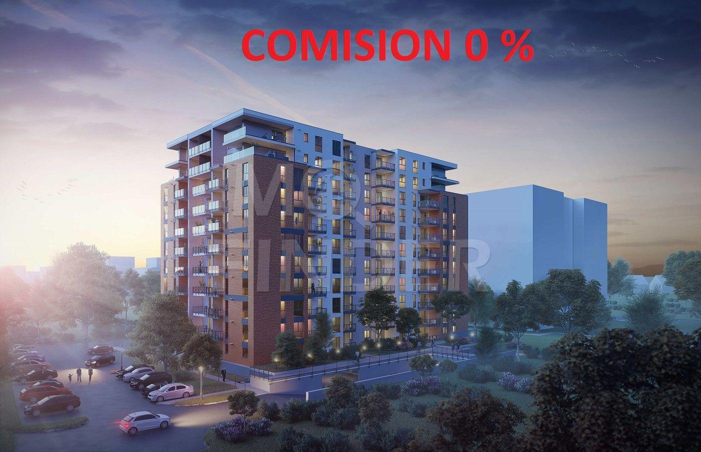 Comision 0 - Apartamente 2, 3 camere, proiect nou,  Buna Ziua