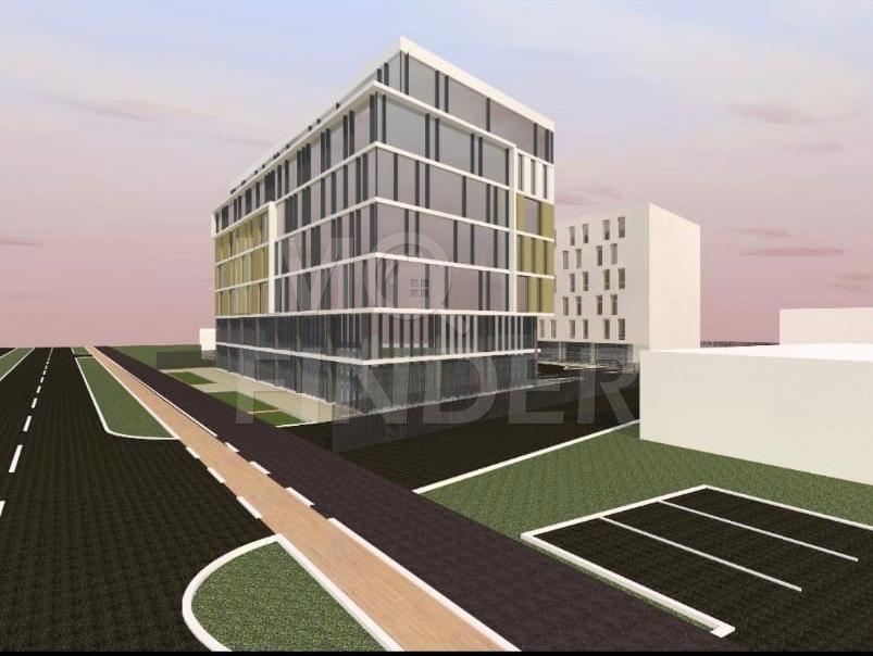 Vanzare teren cu autorizatie 2S+P+6E, Hotel, zona Aeroport