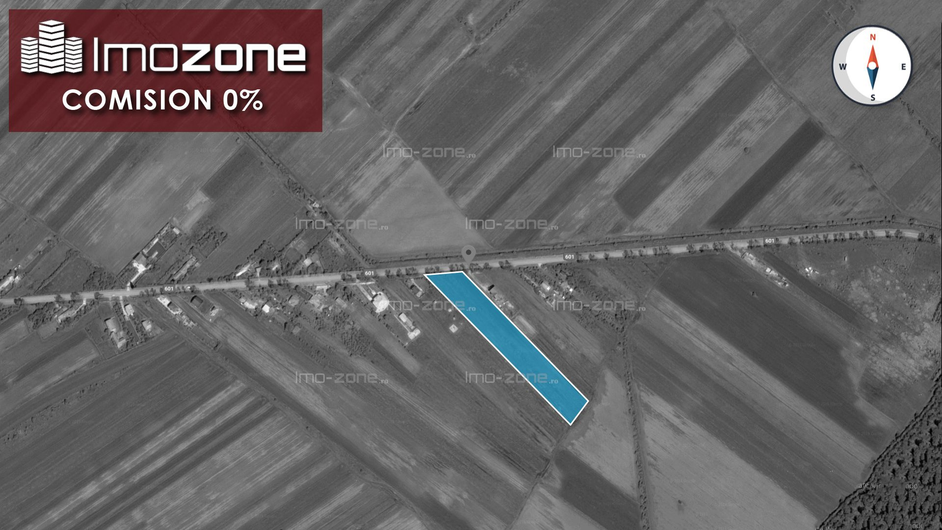 TEREN INTRAVILAN - CREVEDIA MARE- 5000 mp, DESCHIDERE 25 m, 6 EURO/mp - LA SOSEA