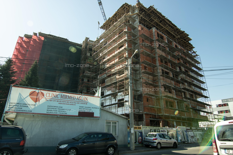 58 mp, 2 CAMERE, localizat langa metrou, MILITARI - PACII, etajul 4.