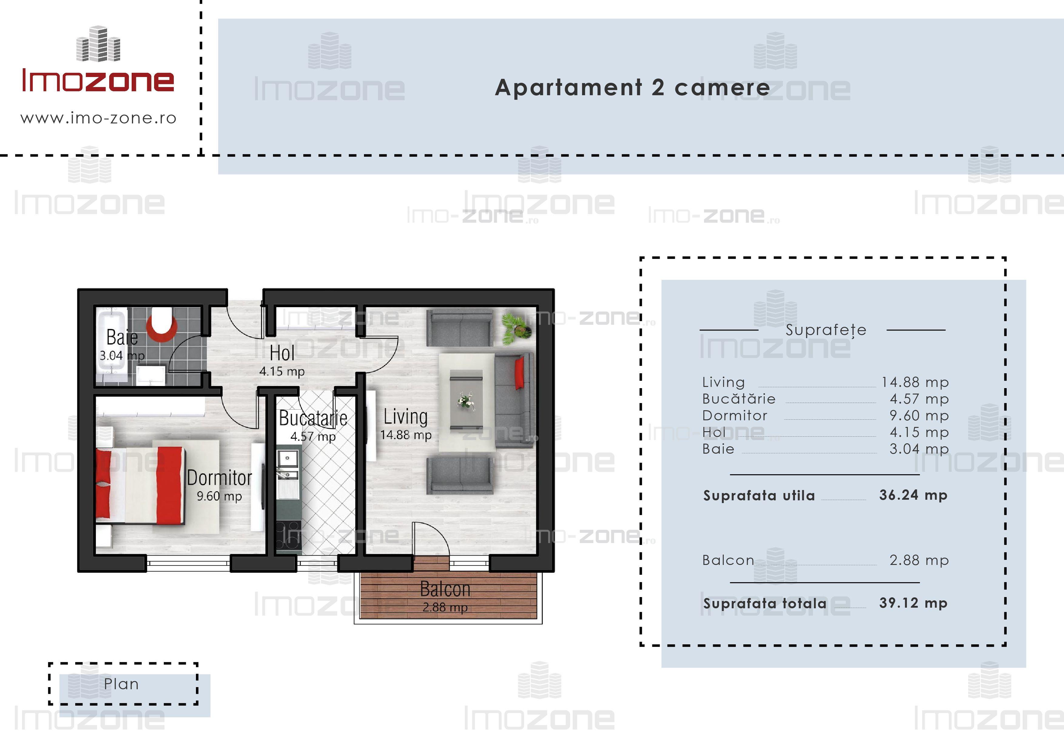 Apartament cu 2 camere  Drumul Taberei- Valea Oltului