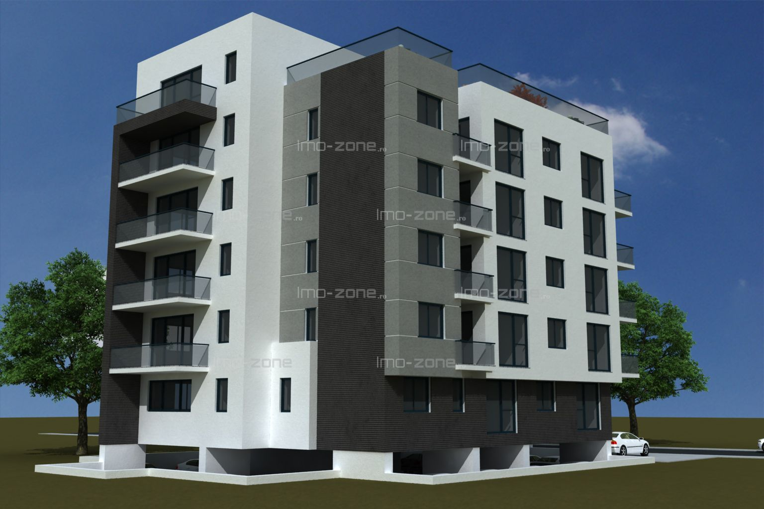 Apartament nou langa PLAZA, 3 camere, decomandat, 2 bai, bucatarie inchisa, lift