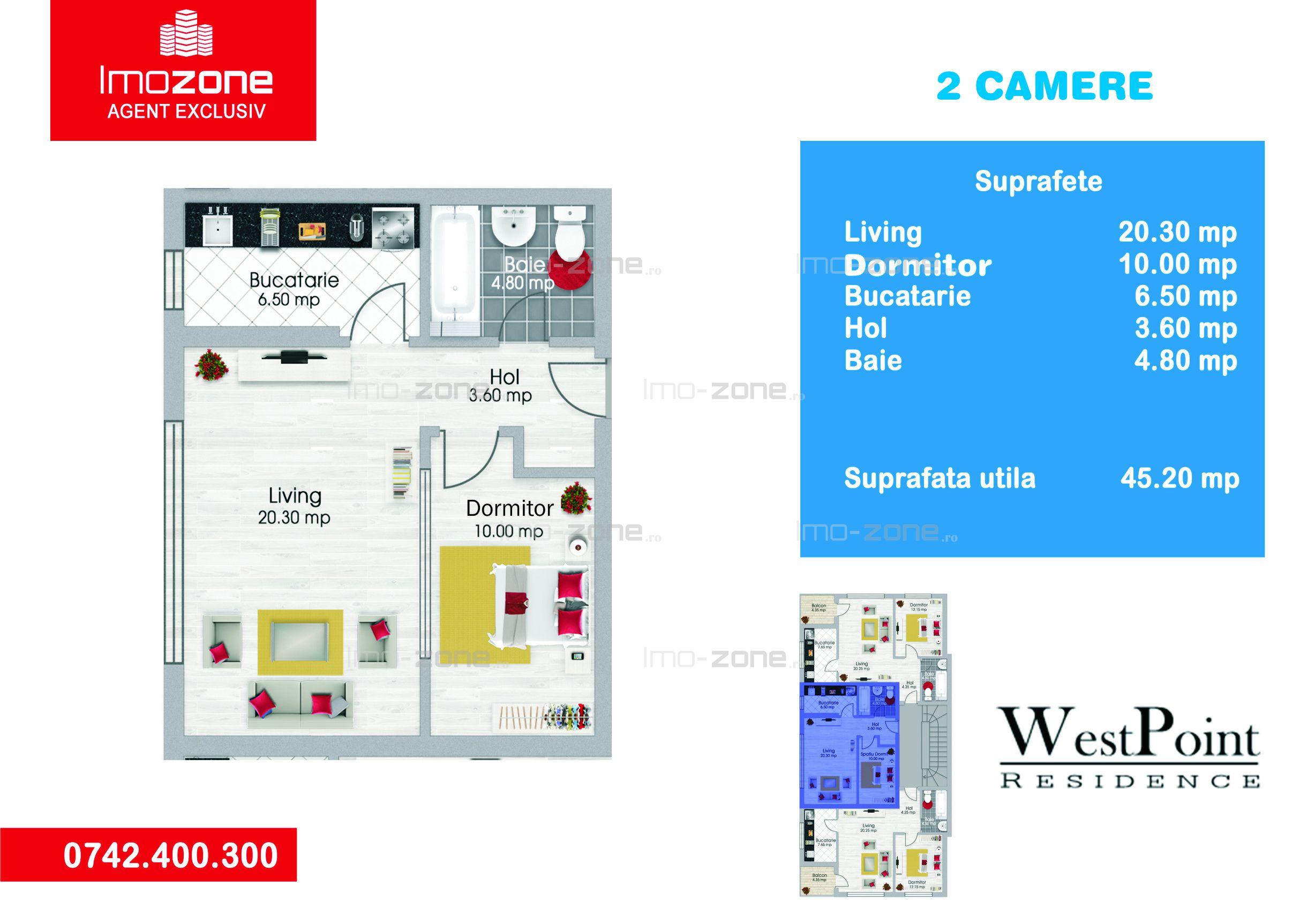 Studio 45mp, Bloc Nou Str. Barsanesti - Militari - Sector 6, metrou, Comision 0%