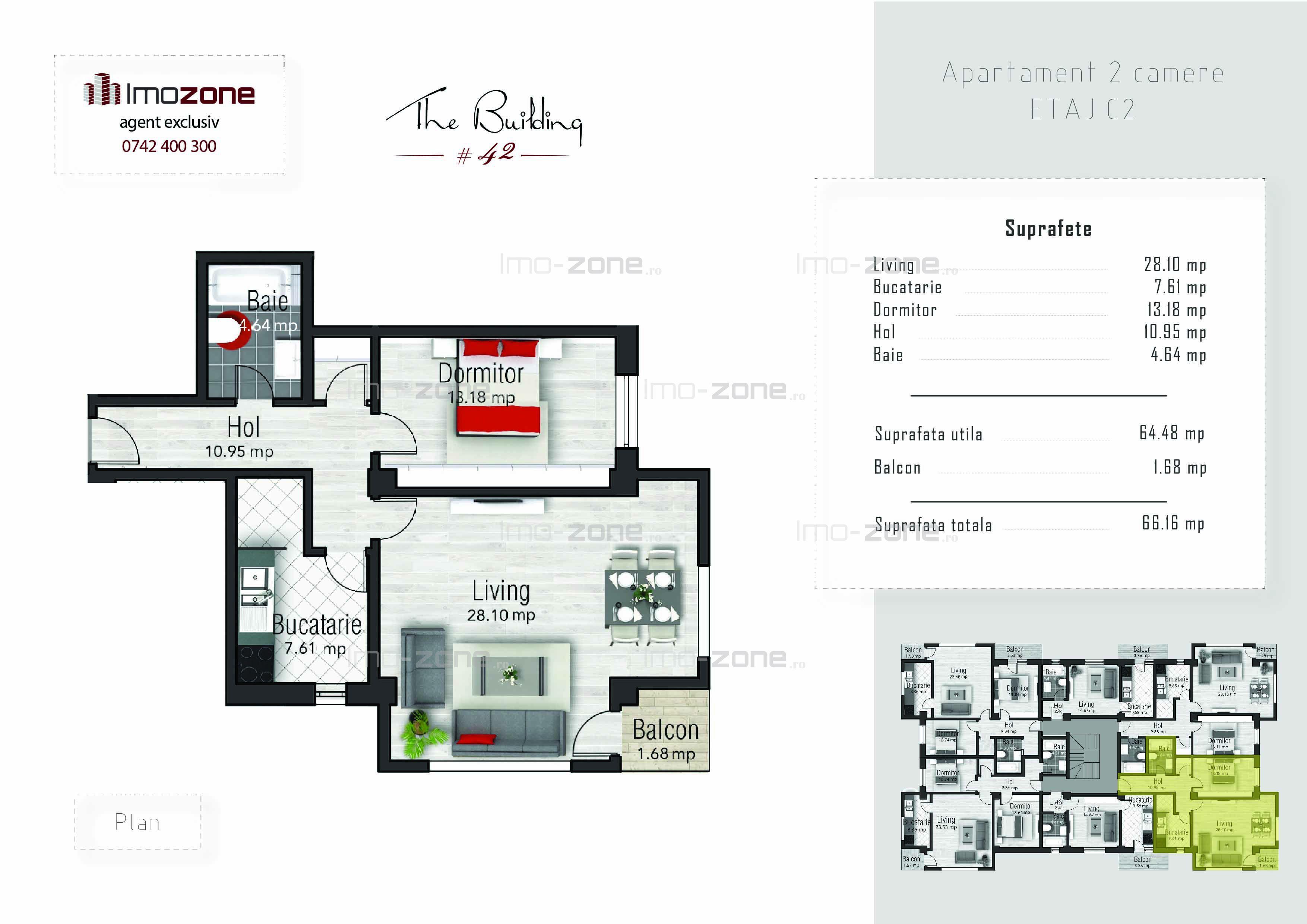 Apartament 2 camere 66mp, bloc finalizat, utilitati, Drumul Taberei, comision 0%