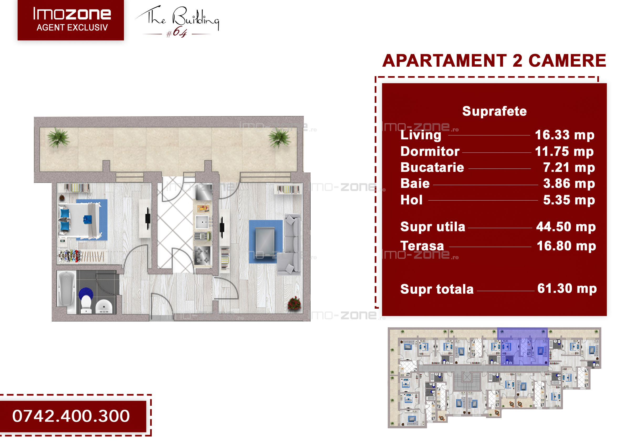 Apartament 2 camere +terasa 17mp, Drumul Taberei ANL Brancusi, vedere panoramica