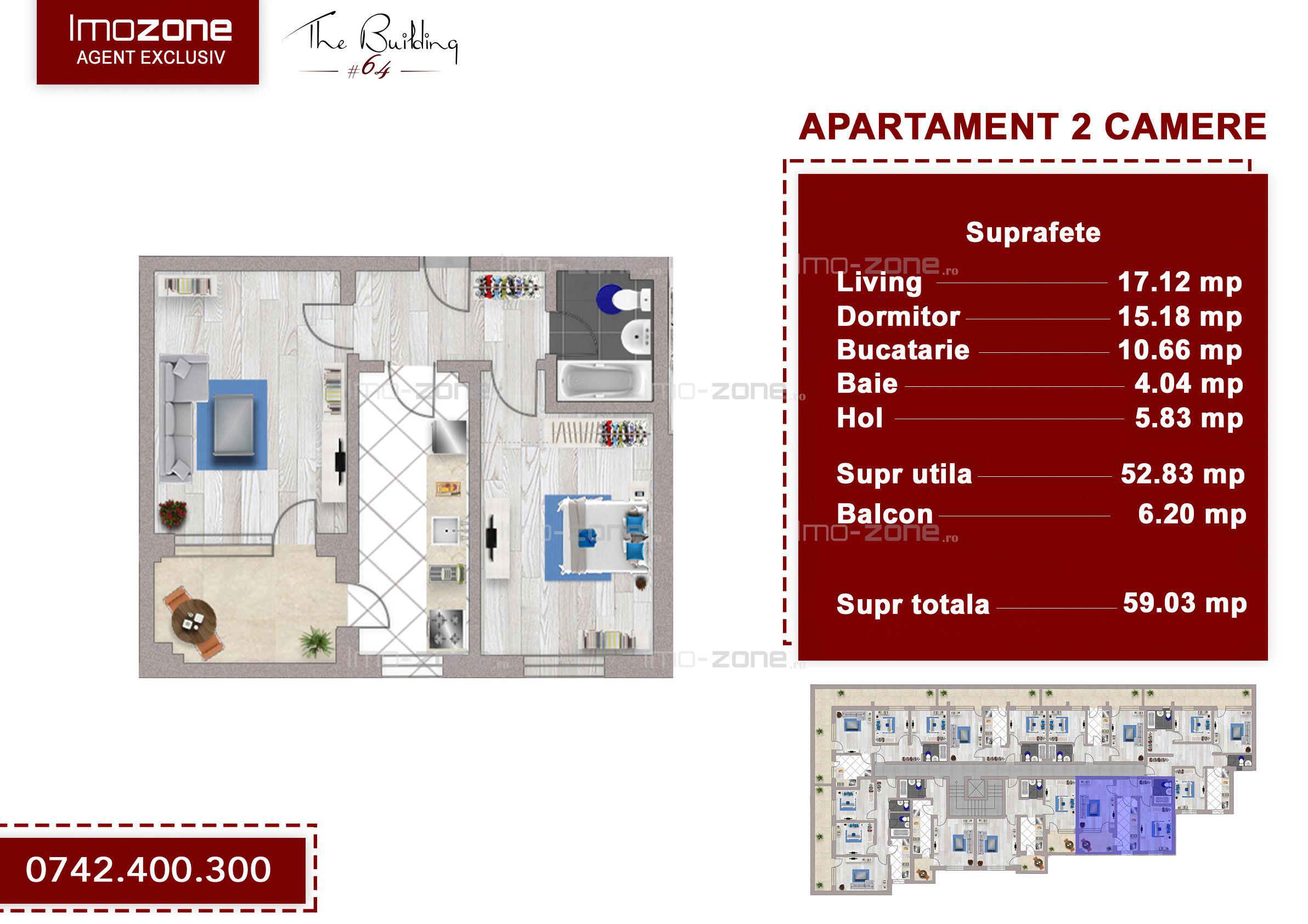 Apartament 2 camere Drumul Taberei, Valea Oltului, Valea Doftanei - ANL Brancusi