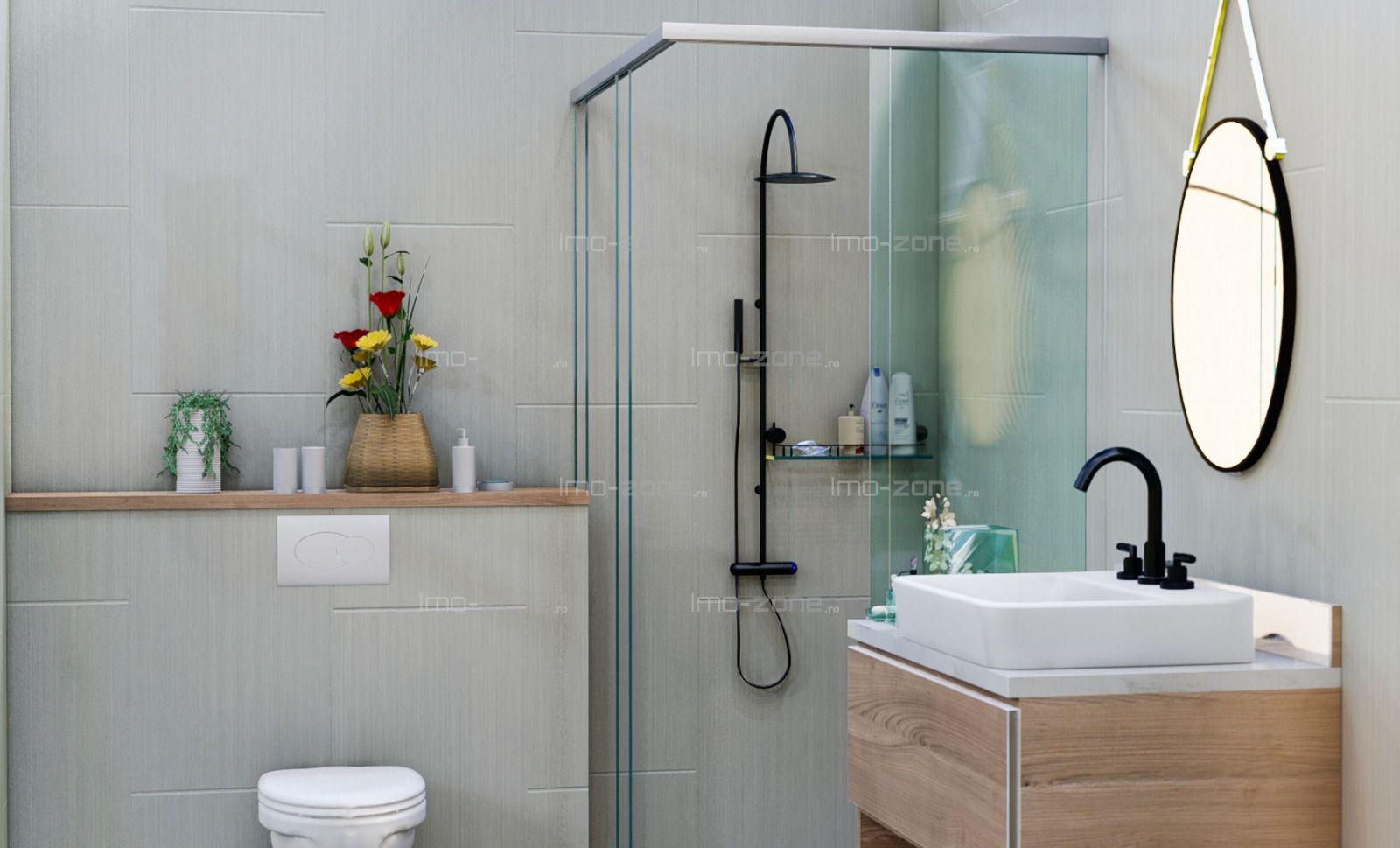 2 camere, decomandat, etaj 4, bucatarie inchisa, baie cu geam, 9 min. metrou