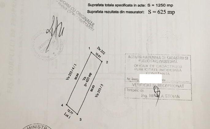 Vanzare Teren Extravilan - TOMIS PLUS, Constanta